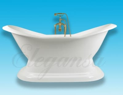 "Ванна чугунная ELEGANSA ""DIANA"" 1800x800 Н0000249 180x80 овальная"