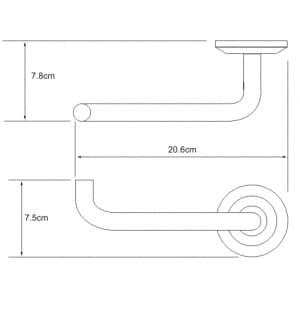 K-6296 Держатель туалетной бумаги WasserKRAFT