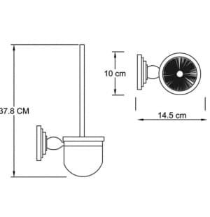 К-7327 Щетка для унитаза подвесная WasserKRAFT