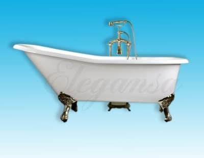 "Ванна чугунная ELEGANSA ""SCHALE"" gold Н0000261 170x75 овальная"