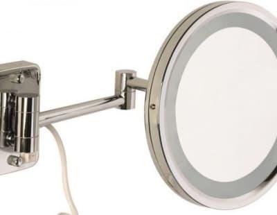 Sanibano, настенное круг. зеркало с 3-х кратным увелич. и LED подсвет. (без провода и вилки), цвет х H221/WITHOUTLED