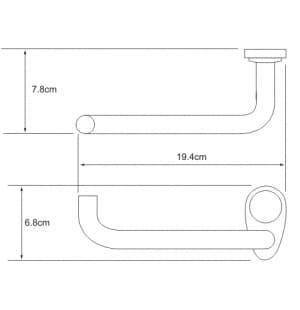 K-9296 Держатель туалетной бумаги WasserKRAFT