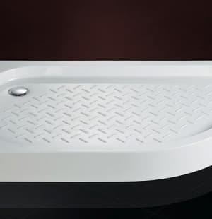Душевой поддон литой мрамор Cezares TRAY-S-RH 120x90 L