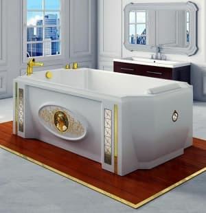 Акриловая ванна RADOMIR Эстелона с панелью 190x110