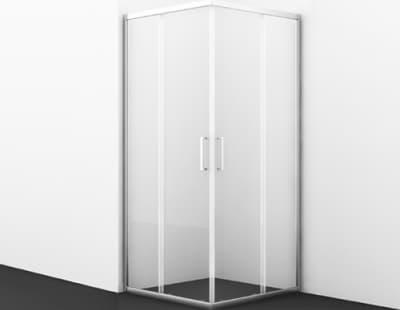 Main 41S03 Душевой уголок, квадрат, с раздвижными дверьми  WasserKRAFT