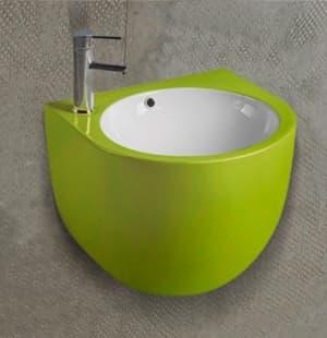 Раковина для ванной подвесная зеленая MELANA MLN-500FGW