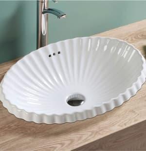 Фигурная раковина для ванной MELANA MLN-509