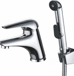 Смеситель для умывальника с гигиеническим душем Edelform Ocker OC1815