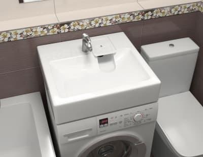 Раковина над стиральной машиной Bergg Монако V51