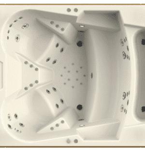 Гидромассажный бассейн RADOMIR Колизей 250x200