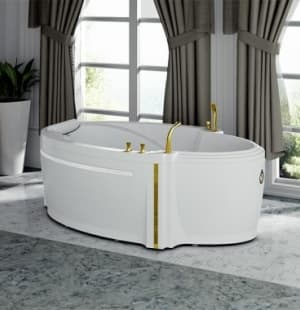 Акриловая ванна RADOMIR Ницца с панелью 190x110