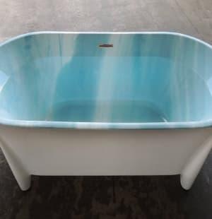 Ванна акриловая отдельностоящая  BELBAGNO BB40-1700-MARINE