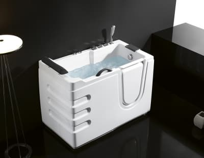 Акриловая ванна ABBER AB9000 B R 130x70