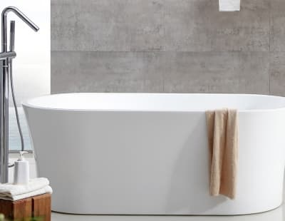 Акриловая ванна ABBER AB9201-1.6 160x80