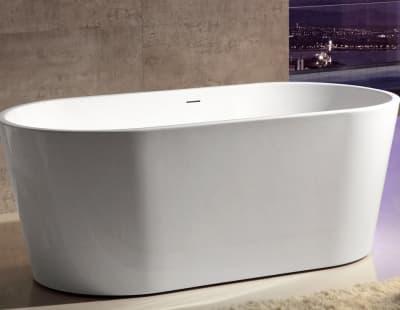 Акриловая ванна ABBER AB9203-1.4 140x70