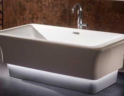Акриловая ванна Gemy G9221 170 прямоугольная 170x85