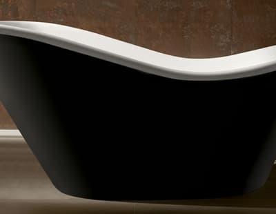 Акриловая ванна Gemy G9231B 170 овальная 170x80