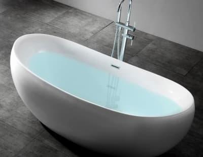 Акриловая ванна Gemy G9236 170 овальная 170x80