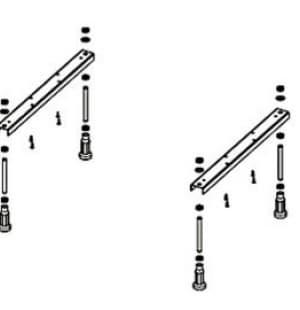 Ножки для ванны UNIVERSAL ALPEN ANU0062