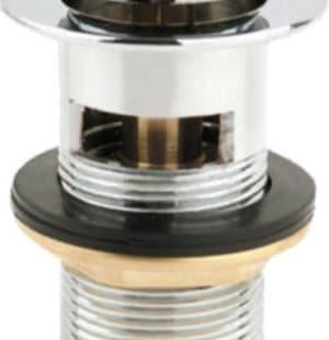 Донный клапан с системой Клик-клак с переливом BelBagno BB-PCU-06-CRM