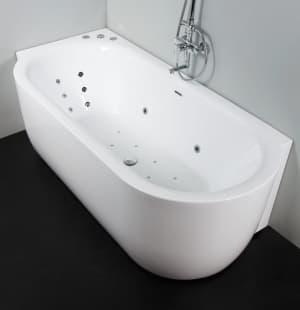 Гидромассажная ванна BelBagno гидро-аэромассаж BB11-1700(L/R).4G.CR (хром)