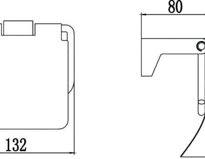 Бумагодержатель Savol S-007351