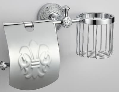 Держатель для туалетной бумаги и освежителя Savol S-L05851A