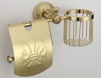 Держатель для туалетной бумаги и освежителя Savol S-L05851B