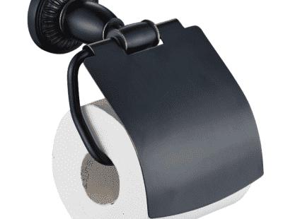Держатель для туалетной бумаги с крышкой Savol S-006651H