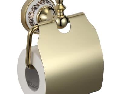 Держатель для туалетной бумаги с крышкой Savol S-06851B