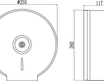 Диспенсер для туалетной бумаги Savol S-Y6001S