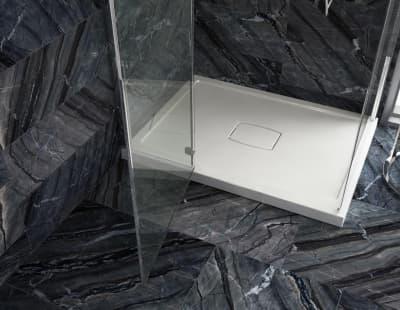 Душевой поддон из литого камня Salini PESARO 120x120 SOLIX (Глянец) 120127G 1200x1200x68