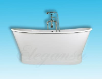 """Ванна чугунная ELEGANSA """"SABINE"""" WHITE Н0000359 170x70 овальная"""