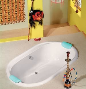 Акриловая ванна ALPEN EOLA 190x113 15111