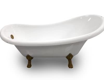 Акриловая ванна Gemy G9030 D 175 овальная 175x82