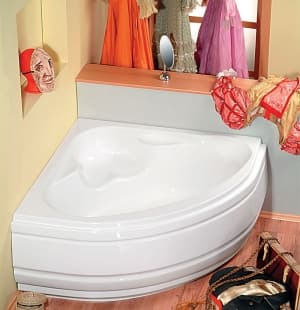 Акриловая ванна ALPEN NILA 120x120 10111