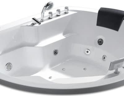 С гидромассажем акриловая ванна Gemy G9053 K 185 нестандартная 185x162