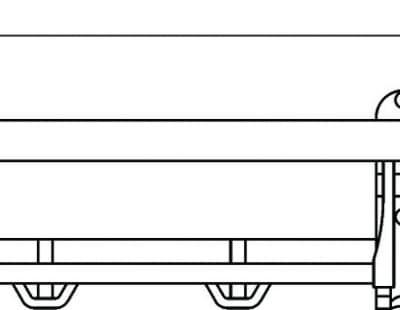 Полка для полотенец откидная 60 см Savol S-007099
