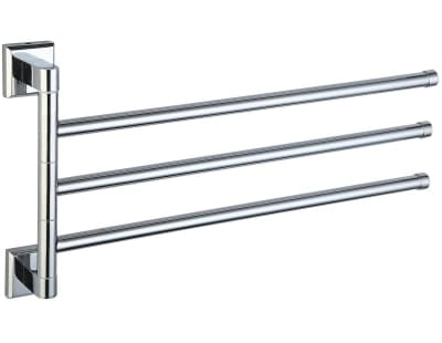 Полотенцедержатель поворотный тройной Savol S-009503