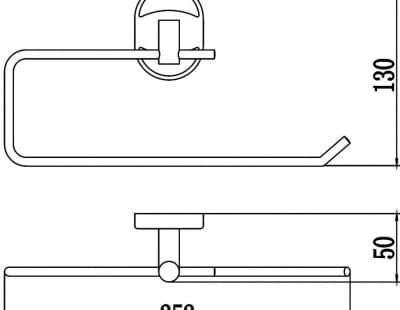 Полотенцедержатель Savol S-L07052