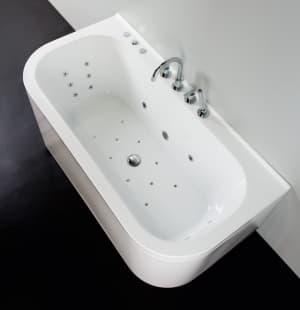 Гидромассажная ванна BelBagno BB31-1600 гидро-аэромассаж BB31.4G.CR (хром)