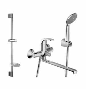 Комплект для ванной комнаты 2в1 смесители Bravat Fit F00416C