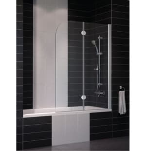 Шторка на ванну Vegas Glass E2V 120x140 Складная двухсекционная