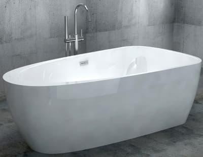 Акриловая ванна Gemy G9210 170 нестандартная 170x90