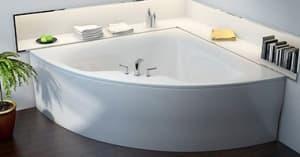 Угловые ванны из литьевого мрамора