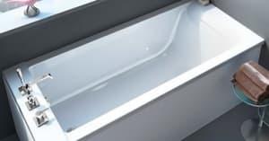 Прямоугольные ванны из литьевого мрамора
