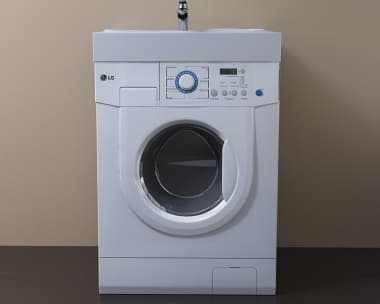 Раковина над стиральной машиной VELVEX BUTA 600