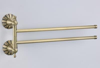 Полотенцедержатель поворотный двойной Savol S-C08902