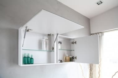 Зеркальный шкаф BelBagno LUCE BB800PAC/TL, Tortora Lucido