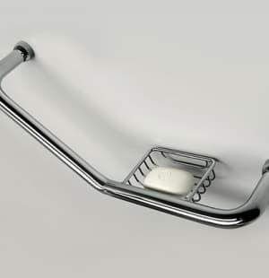 K-1077 Поручень для ванны с мыльницей WasserKRAFT